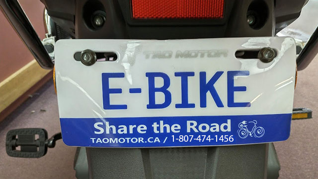 Share the Road  Go Green Ebikes