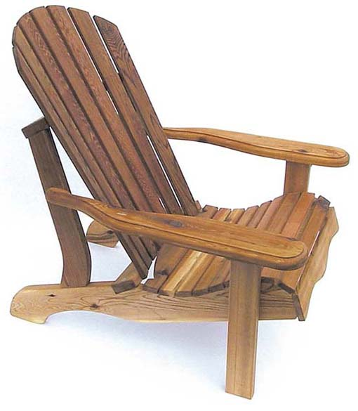 Eagle's Nest Cedar Adirondack Chair